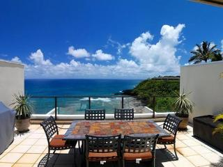 Puu Poa 413-Premier 2 bedroom/2 bath penthouse with gorgeous ocean views- heated pool - Princeville vacation rentals