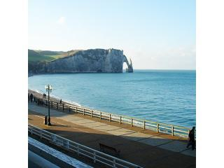 Etretat Beach: apartment with panoramic sea view - Etretat vacation rentals