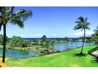 View from Lanai - Mauna Lani Terrace Luxury Penthouse-Awesome views - Kamuela - rentals