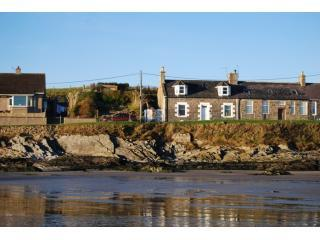 Sandend cottage from beach - Sandend Cottage with stunning sea views near beach - Banff - rentals