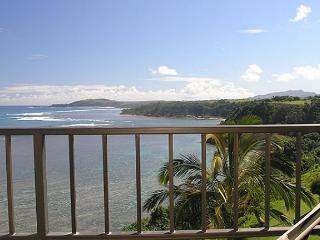 Sealodge D8: Top floor, very private, oceanfront and Bali Hai views - Princeville vacation rentals