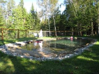CEDAR CREEK - POOL - Cedar Creek, Petit Train Du Nord, Laurentians - Val Morin - rentals