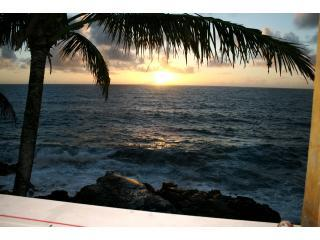 Watching morning sunrise at the house - Kehena Makai - Kaimu - rentals
