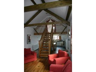 Boia living room - Boia, 5* luxury stone barn conversion ,St.Davids - Saint Davids - rentals