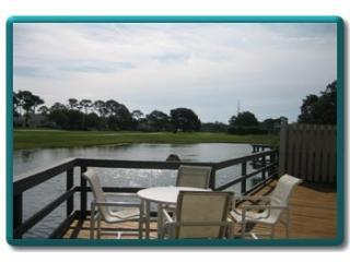 Enjoy morning coffee or wine time on deck overlooking the golf course - The Best for Less - 50 to 75% off Front Desk Price - Destin - rentals
