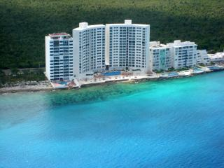View from the air of Peninsula Grand - Cozumel Ocean Front condo at  Peninsula Grand - Cozumel - rentals