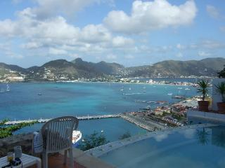 View overlooking Great Bay - VistaRoyale - Private pool and breathtaking  view - Philipsburg - rentals