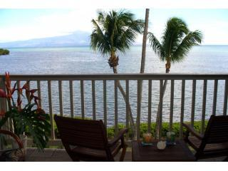 Welcome to the View from the Lanai - OceanFront - Top Floor @ the Wavecrest - Apt A-303 - Molokai - rentals