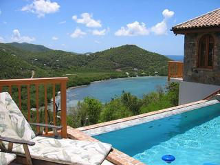 View towards Fish Bay from VillaVIaggi - Villa Viaggia, overlooking Fish Bay, on St John US - Saint John - rentals