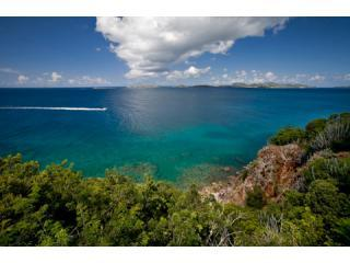 Only a portion if the huge, wide view from Serenity - Serenity - Maria Bluff St John US Virgin Island - Cruz Bay - rentals