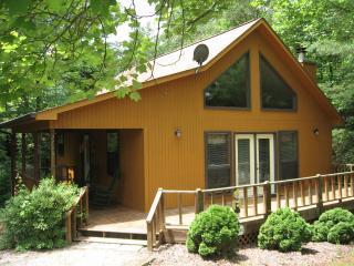 Romantic 1 bedroom Blairsville Cabin with Deck - Blairsville vacation rentals