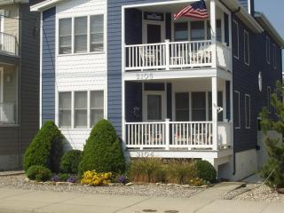 *Steps to beach at 31st Street* 1st fl-Great loc - Ocean City vacation rentals