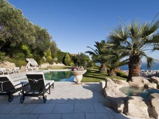 Luxury Nice Villa with Private Pool, Panoramic Sea View, WiFi - Saint-Andre-de-la-Roche vacation rentals