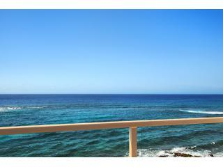 Ocean Views Looking South - POIPU, KAUAI, OCEANFRONT 2BD/2BA, KUHIO SHORES 410 - Poipu - rentals