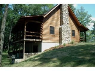 mapleridgeoutside - Mapleridge, delux log cabin sleeps 10 - Logan - rentals