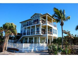 True Beachfront Home - The Green Flash - True Beachfront with Pool - Captiva Island - rentals