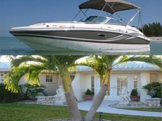 Boat included in rental price - Deck Boat included with Beautiful Yacht Club Home - Cape Coral - rentals