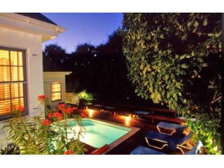 Villa Finistere in The Evening at Flamands Beach - Flamands Beach's Villa Finistere with Private Pool - Saint Barthelemy - rentals