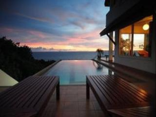 View from Master Bedroom - Pool overlooking sunset and sea. - Large Villa in Koh Lanta with Pool,  Near Beach - Ko Lanta - rentals