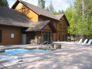 Ptarmigan Village New Pool Building and Outdoor Spa - Whitefish, Montana Deluxe Cabin Style Townhome - Whitefish - rentals