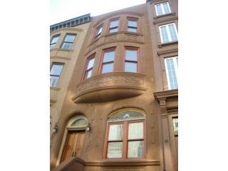 brownstone exterior - 2 Bdrm Brownstone Home in Harlem, Manhattan - New York City - rentals