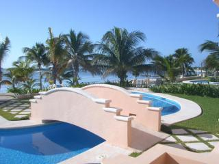 2 stunning pools - oceanfront pool - Great Value - Beachfront Complex - Mayan Magic - Puerto Aventuras - rentals