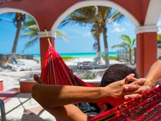 Beachfront Hacienda del Cuyo Groundfloor - Cancun vacation rentals