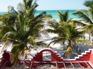Beachfront  Hacienda del Cuyo, 1st Floor - El Cuyo vacation rentals