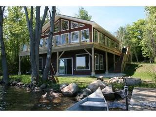 Loon Lodge from the Dock - Loon Lodge on Miller Lake - Tobermory - rentals