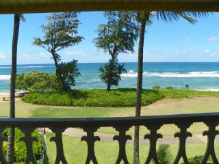 Kauai Kapaa Oceanfront condo view Vacation Rental condo by owner - OCEAN ! - Kapaa vacation rentals