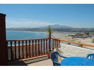 deck and view, playa la boca, Mauco Mt. - Con Con Bay, Vina Del Mar Chile - Concon - rentals
