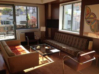 West Village Elevator 1-Bedroom /Huge Private Deck - New York City vacation rentals