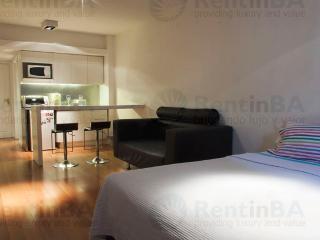 Sunny Studio w/ Wi-Fi, Balcony, Doorman, Pool, Sauna, Gym & More (ID#24) - Ezeiza vacation rentals