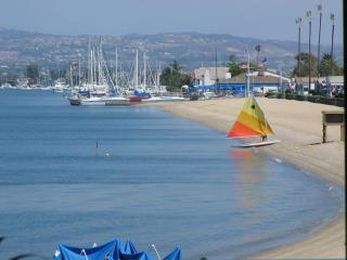 Now Marina Park Beach before the Light Houses - Lux Newport Beachfront Rental Casa de Balboa 227 - Newport Beach - rentals