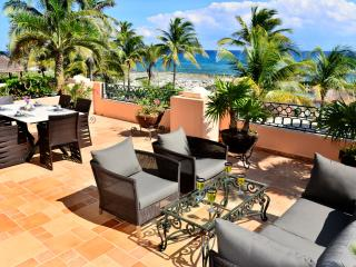 Fabulous View - Amazing Terrace - Great Beach - Puerto Aventuras vacation rentals