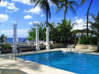pool overlooking the Caribbean - BARBADOS LOVELY APARTMENT NEAR SEA AND POOL CLUB - Sunset Crest - rentals