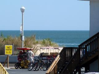 3BR OCEAN & BOARDWALK view, pool, free WiFi linens - Ocean City vacation rentals