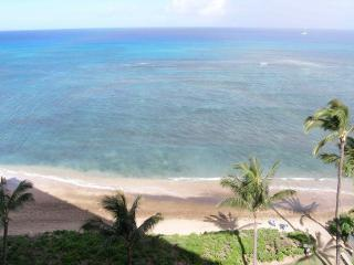 Right from the lanai of a West facing unit - VALLEY ISLE CONDOMINIUM RESORT Oceanfront - Lahaina - rentals