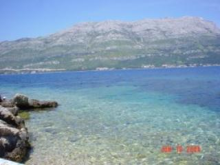 View from our Bay - Korcula Waterfront Accommodation 2 Bed Apartment - Korcula Town - rentals