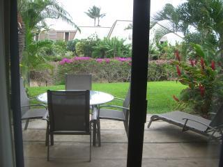 Lanai off living area - Large Maui Kamaole Condo with Den - GREAT VALUE!! - Kihei - rentals