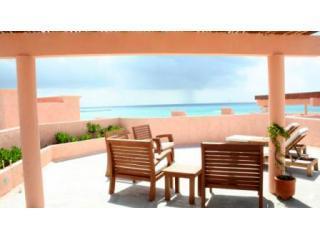 Deck1-Jun06.JPG - Luxury Ocean Front Condo! 3 BR Penthouse! (LE-A3) - Playa del Carmen - rentals