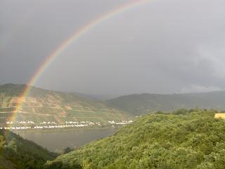 after the rain - Rheinblick-Rhineview - Bacharach - rentals