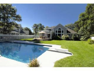 Private Back Yard with Heated Pool - Mashpee, Cape Cod, 6 Bedroom Home & Pool-Sleeps 12 - Mashpee - rentals