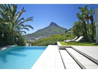 Lions View - Main house view - Lions View Villa and Penthouse apartment Campsbay - Camps Bay - rentals