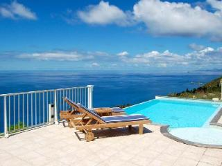 Villa Manon, stunning ocean views, terrace with jacuzzi and housekeeping - Colombier vacation rentals