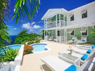 Saline Reef - Comfortable villa with uninterrupted sunset views, pool & beach nearby - Cap Estate vacation rentals