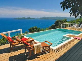 Toa Toa House - Impressive hideaway offers pool, beautiful sunsets & convenient location - Tortola vacation rentals
