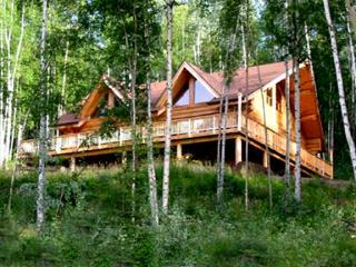 Summer - Fjell Blikk House - Spectacular Log Home and Guest House - Fairbanks - rentals