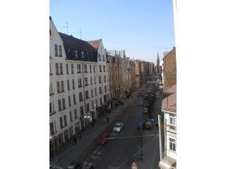 Window view with a church - Kr. Barona 52 Apartments - Riga - rentals