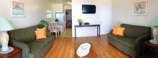 Large Living Room - Apt 6 at the Colony Apartments Oceanfront Suites - Ocean City - rentals